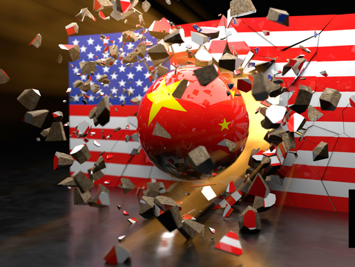CHINA RAMPS UP BID TO OVERTAKE U.S. ECONOMY