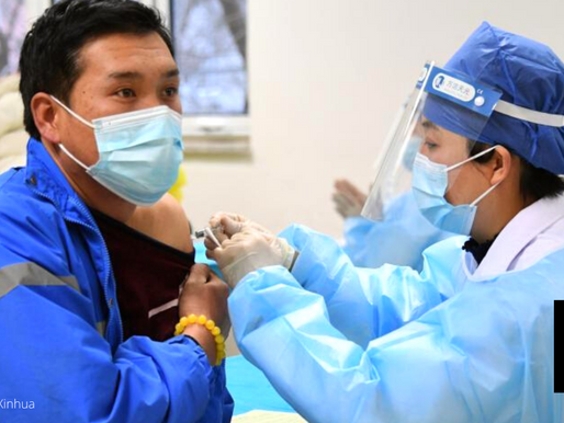 CHINA RAMPS UP VACCINATION DRIVE WITH FREE EGGS, OTHER GOODIES