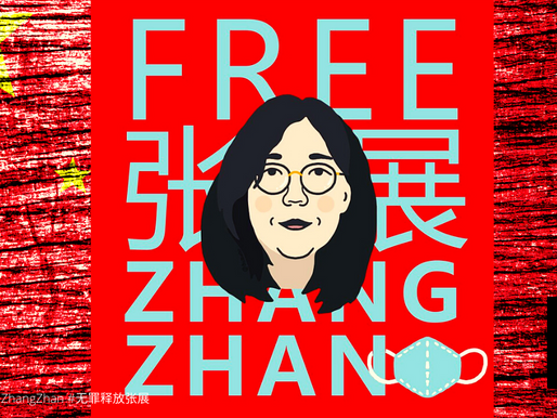 CHINA IMPRISONS CITIZEN-JOURNALIST FOR REPORTING ON WUHAN OUTBREAK