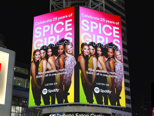 Spotify Pays Homage To 25 Years Of The Spice Girls Via London Spice Bus Tours