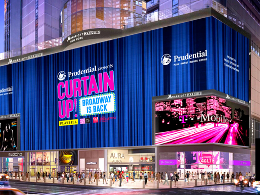 Prudential Backs NYC's Cultural And Economic Rebound As Broadway's Lights Turn Back On