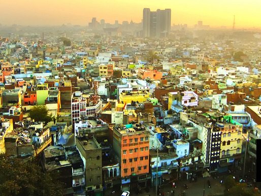 NEW DELHI LOCKED DOWN FOR ONE WEEK DUE TO COVID SURGE