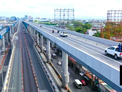 ALABANG VIADUCT STEEL RAMP FOR SOUTHBOUND TRAFFIC ONLY APRIL 19 ONWARDS