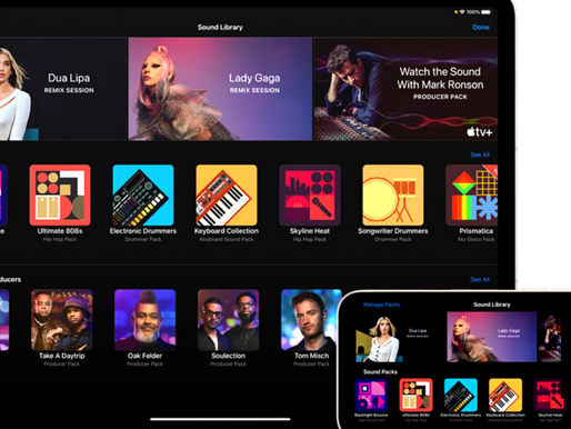 GarageBand Amps Up Music Creation With All-New Sound Packs from Dua Lipa, Lady Gaga, Hitmakers