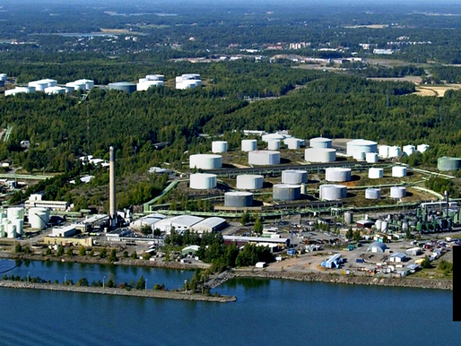 GOV'T-OWNED FIRM SHUTS DOWN NAANTALI REFINERY IN FINLAND