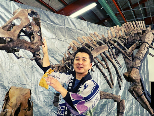 DINOSAUR FOSSIL SAID TO BE NEW SPECIES
