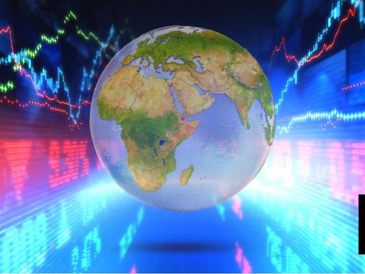 GLOBAL STOCKS, U.S. FUTURES SINK AS TREASURY SELLOFF SHRINKS