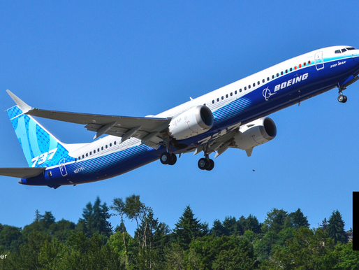 BOEING 737 MAX 10 TAKES 1ST FLIGHT IN U.S.
