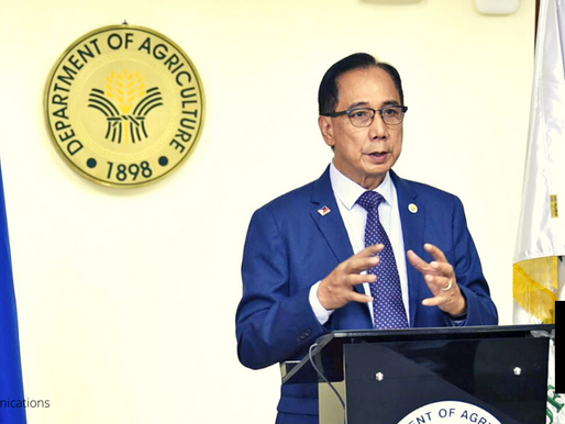 AGRICULTURE, FISHERY SECTORS RESILIENCY DEVELOPED