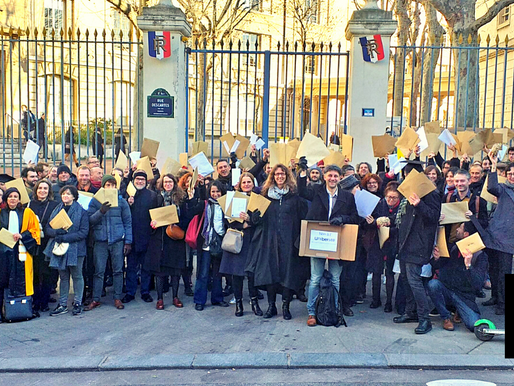 FRENCH SCIENTISTS CREATE 'CAMILLE NOUS' AS AUTHOR IN PROTEST