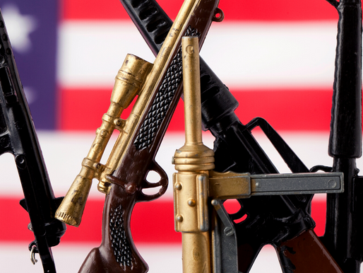 GUN STOCKS RETREAT AS FEARED POST-POLL UNREST FIZZLES OUT