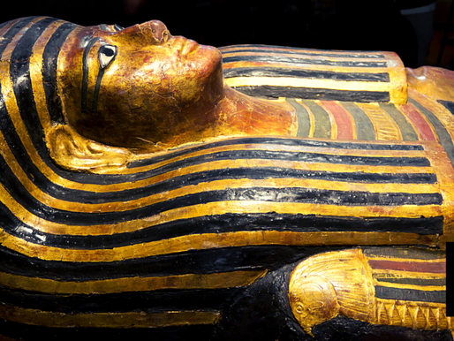 EGYPT SHOWCASES MORE THAN 100 COFFINS DATING BACK 2,500 YEARS