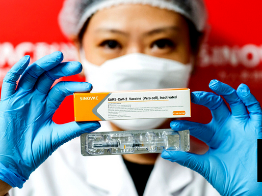 CHINESE COVID-19 VACCINE FAR LESS EFFECTIVE THAN CLAIMED IN BRAZIL