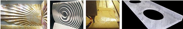 granite countertop what a CNC machine can do. Kroner Usa