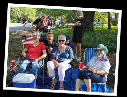 4th of July Parade - Preparations are getting started