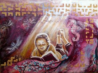 Processen bag et maleri