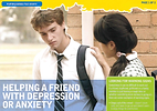 Helping a friend with Depression or Anxi