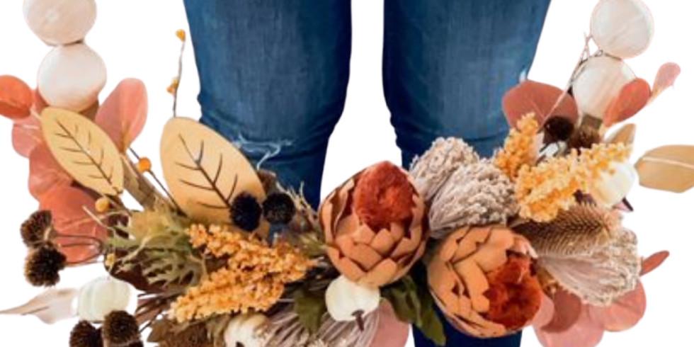 Mini Retreat - DIY Fall Wreath