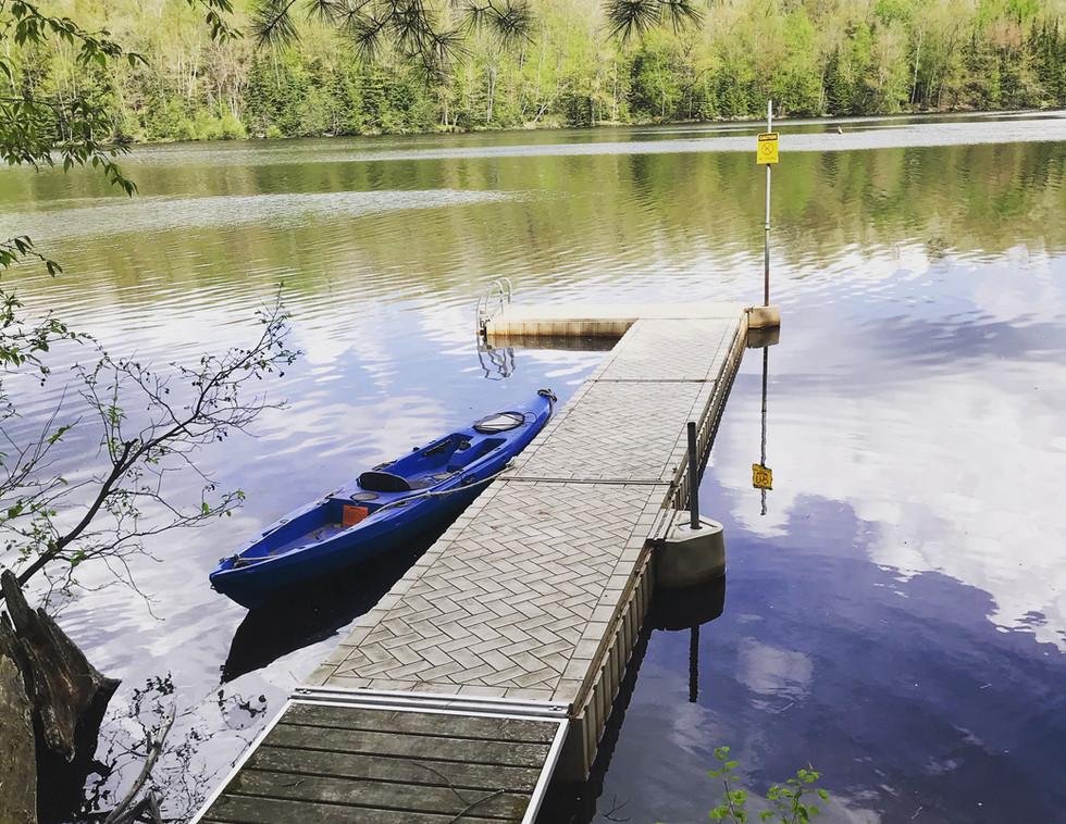 Wisconsin River Private Dock