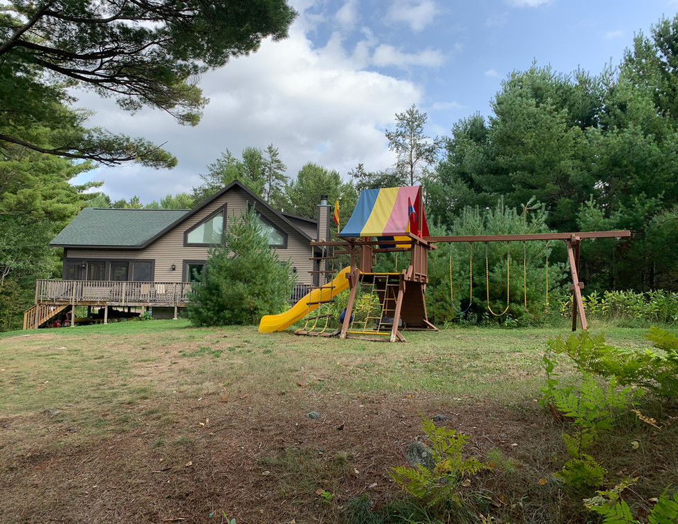 Playset and Chalet