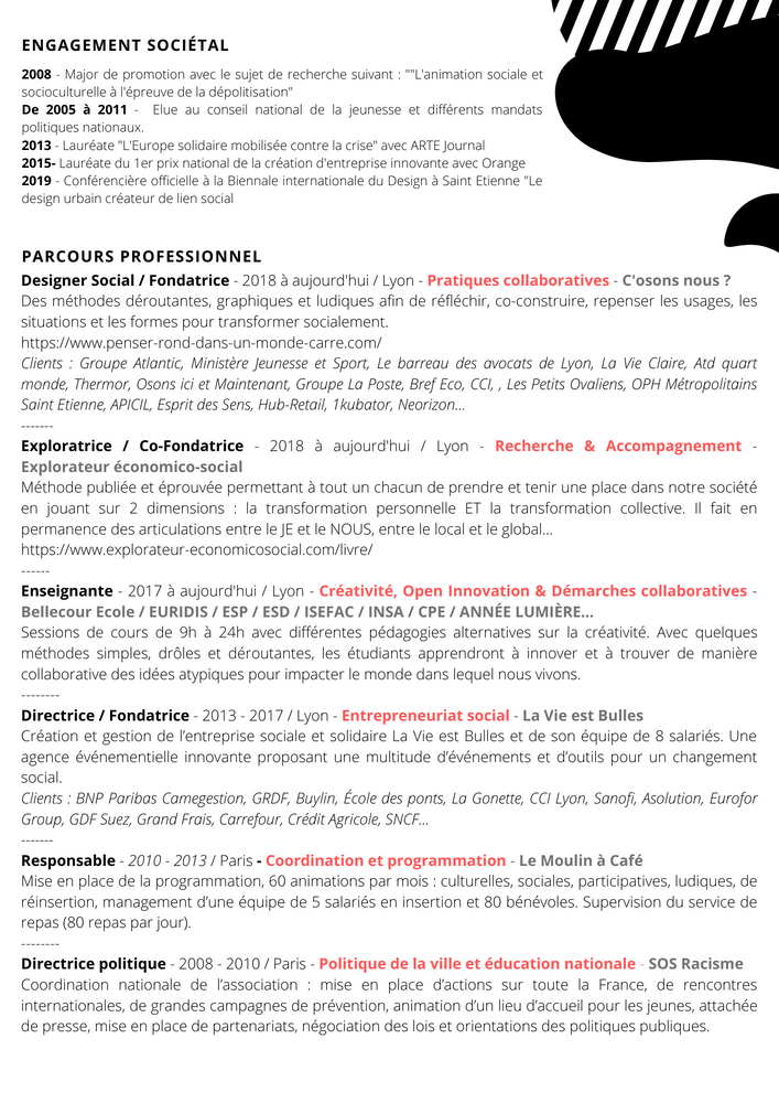 Curriculum vitæ 2