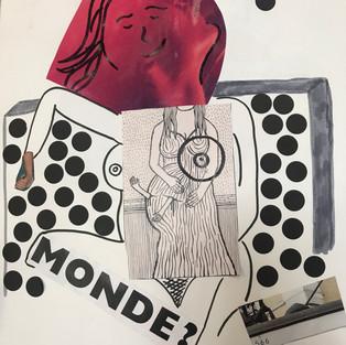 ツ # Modèle Vivant