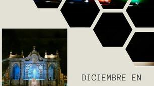 Decoración decembrina en Puebla