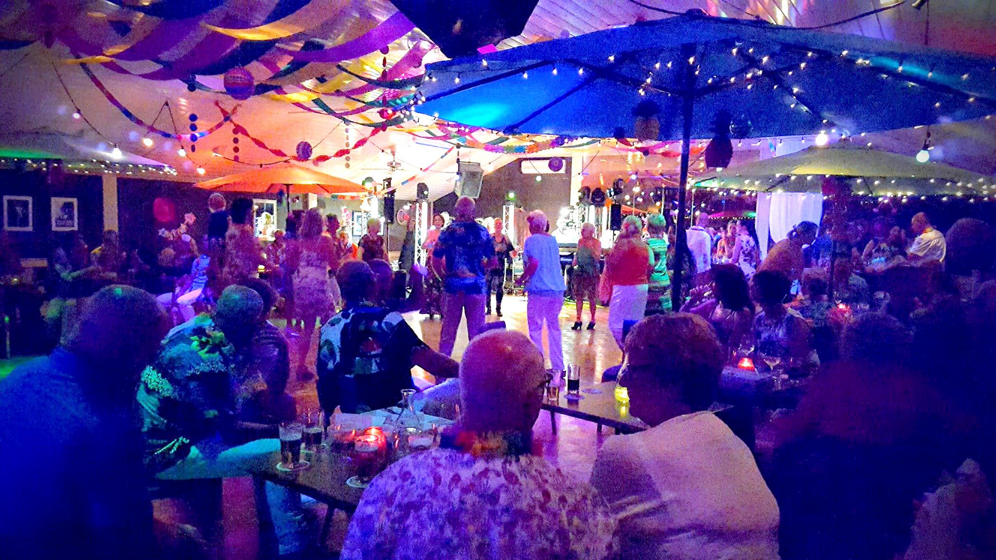 Een feest met een tropisch tintje!