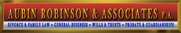 South Florida Divorce Attorney Aubin Robinson Esq.