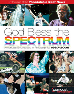 """Book Cover: """"God Bless the Spectrum"""""""