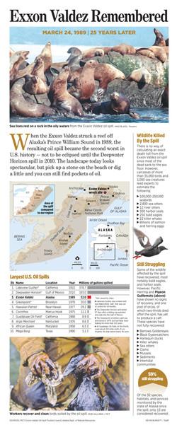 Infographic: Exxon Valdez