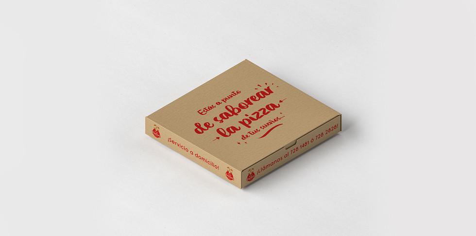 Empaque de pizza