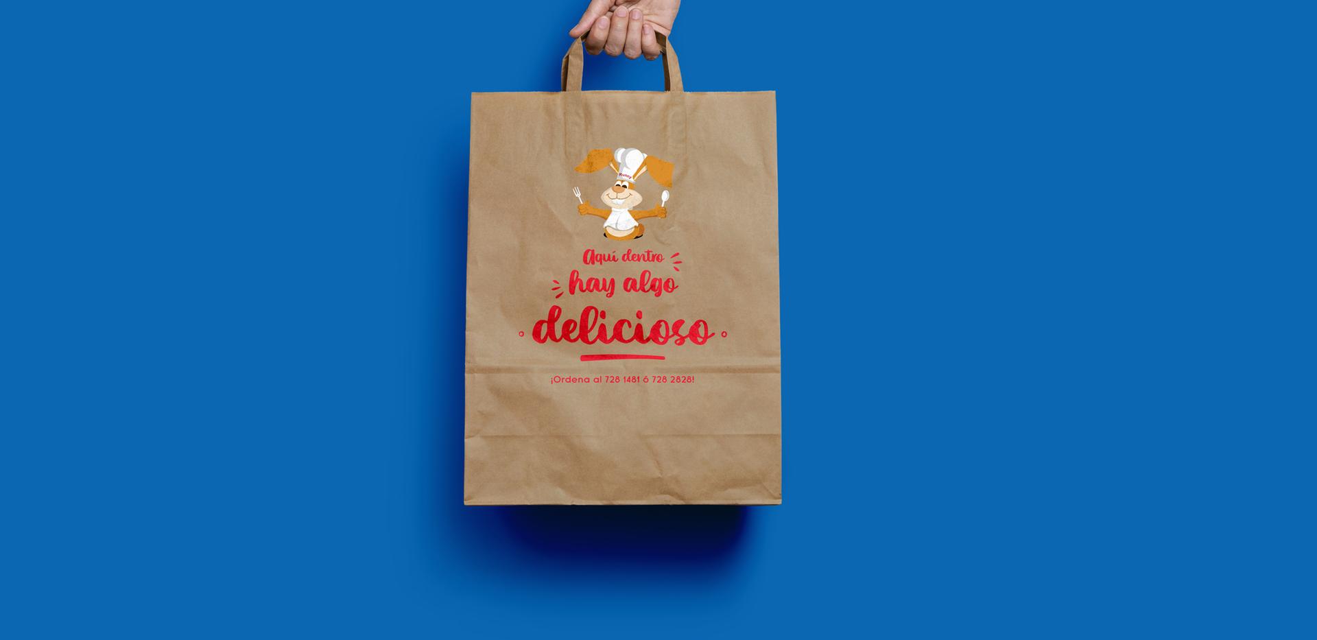 Bolsa de empaque para comida