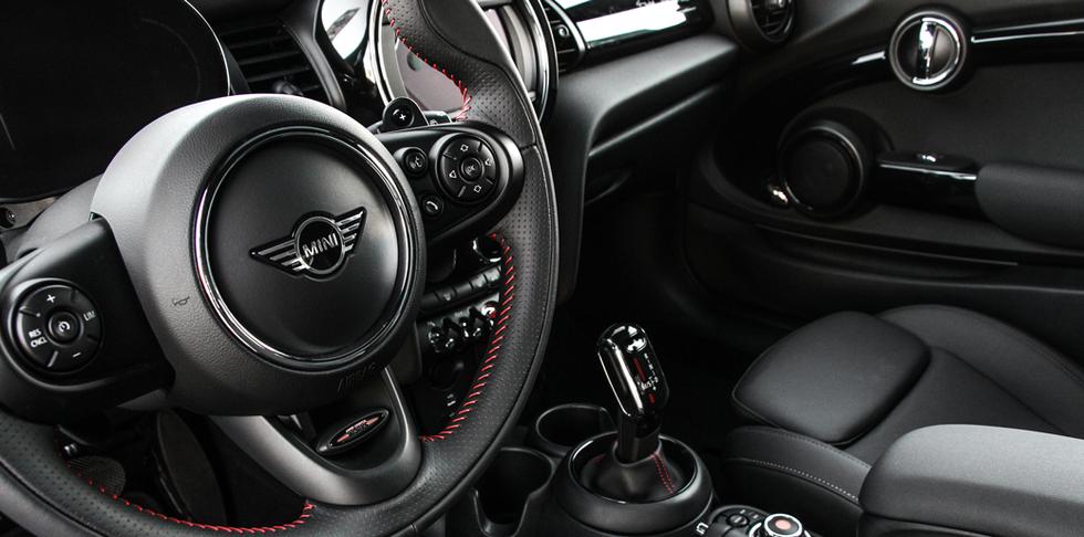 Mini Cooper interior 2