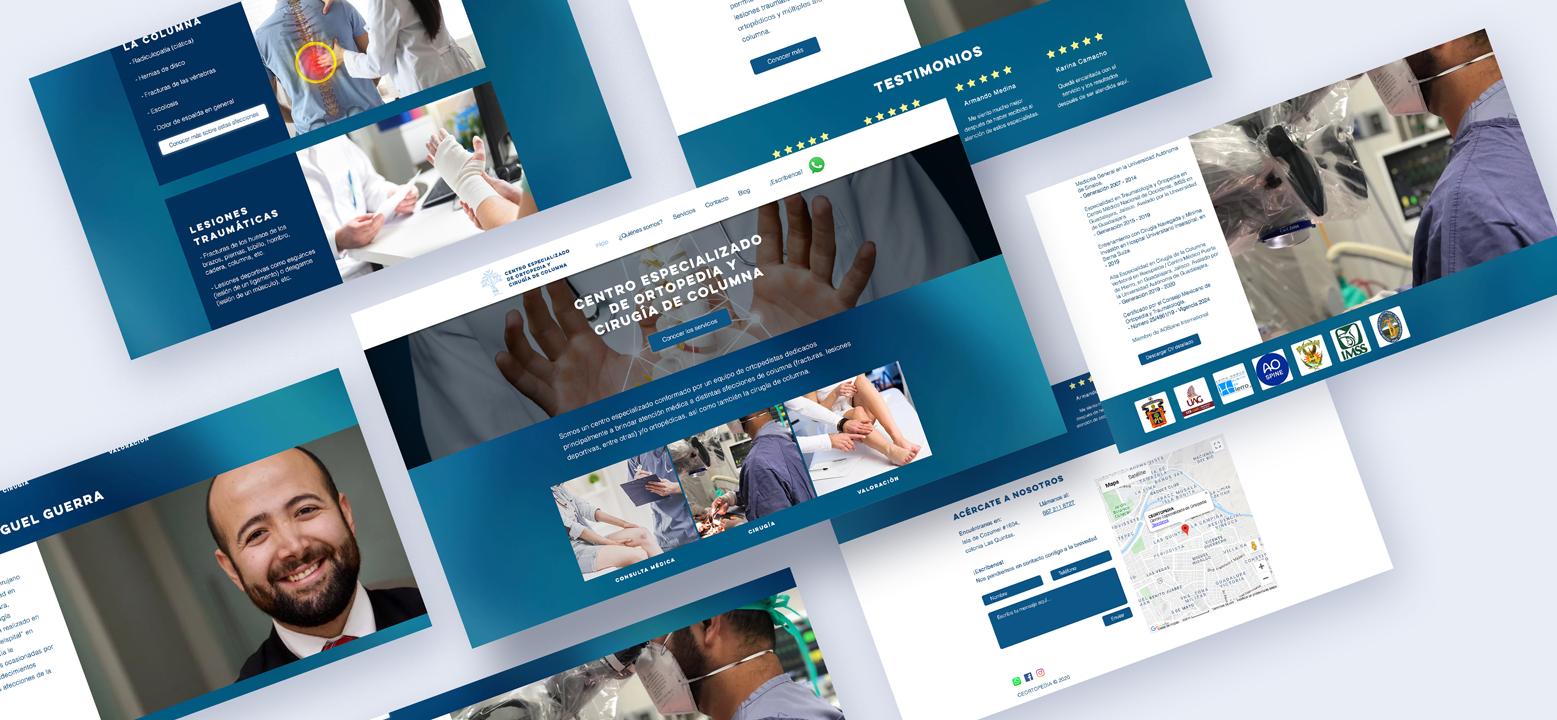 Sitio web Dr Miguel Guerra