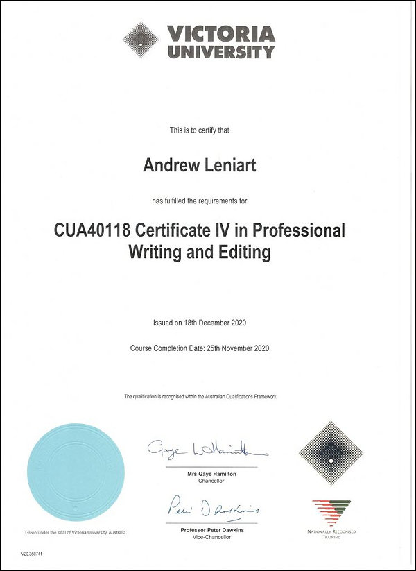 Cert-IV-Professional-Writing-and-Editing