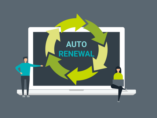 SERVICES THAT AUTO BILL AND/OR RENEW