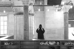 Sultan_Ahmed_Moschee_bw_P1250225