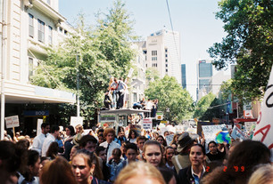 Melbourne, the city of protest