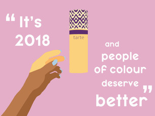 It's 2018 and people of colour deserve better.