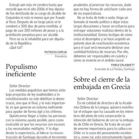 Pablo Zalaquett El Mercurio