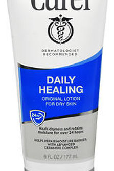 Curel Daily Healing Lotion Moisturizer Original