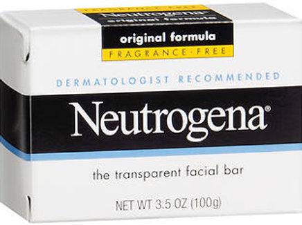 Neutrogena Original Formula Facial Bar Fragrance Free