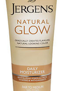 Jergen's Natural Glow Daily Moisturizer for Fair to Medium Skin Tones