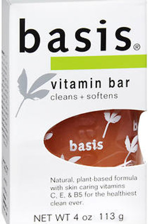 Basis Vitamin Bar Soap