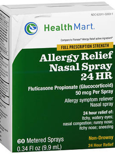 HM Fluticasone Nasal Spray 60 ct.