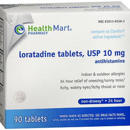 HM Loratadine Tablets 10 mg 90 ct.