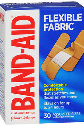 Band-Aid Flexible Fabric Asst.