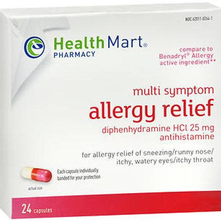 HM Diphenhydramine 25mg 24 ct.