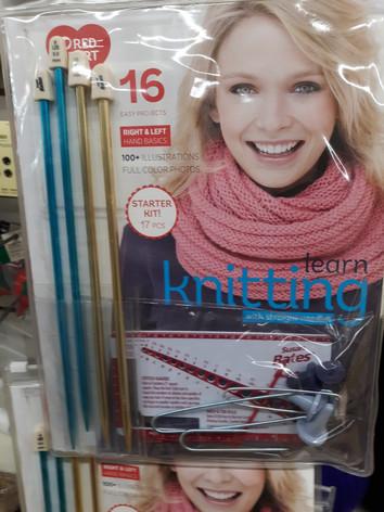 Knittig Patterns and Needles